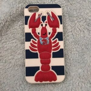 Claires lobster iphone 5/5s/SE case